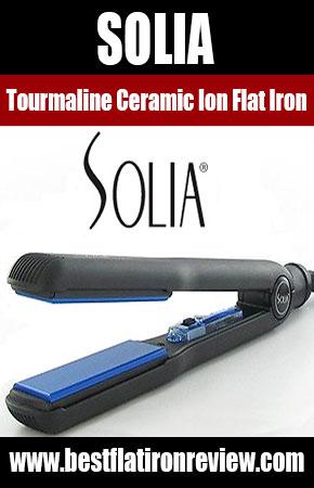 Solia Tourmaline Ceramic Ion Flat Iron
