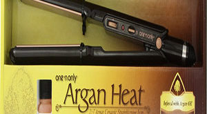 Argan Heat Flat Iron Hair Straightener