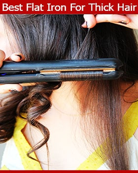 Best Flat Iron For Thick Hair Reviews Guide 2018