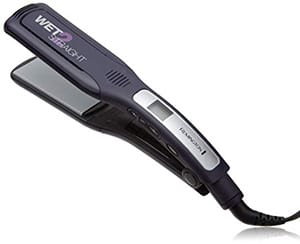 Remington S8001G Wet 2 Straight Wide Plate Wet/Dry Ceramic Hair Straightening Iron