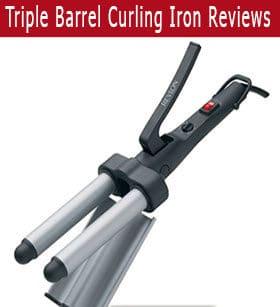 Triple Barrel Curling Iron