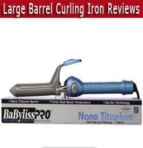 large barrel curling iron