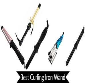 best curling iron wand