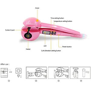 SexyBeauty LCD Display Professional Curling Iron