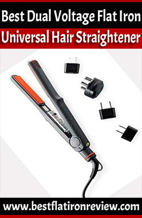 Top 10 Best Dual Voltage Flat Iron for Travelling