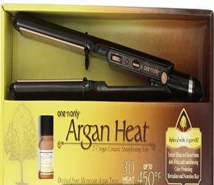 Argan Heat Flat Iron Hair Straightener