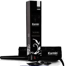 Karmin Clipless Ceramic Curling Iron Wand
